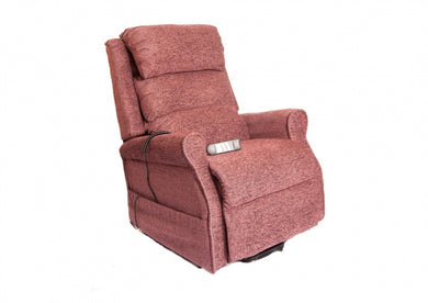 Kingsley Waterfall Back Single Motor Riser Recliner