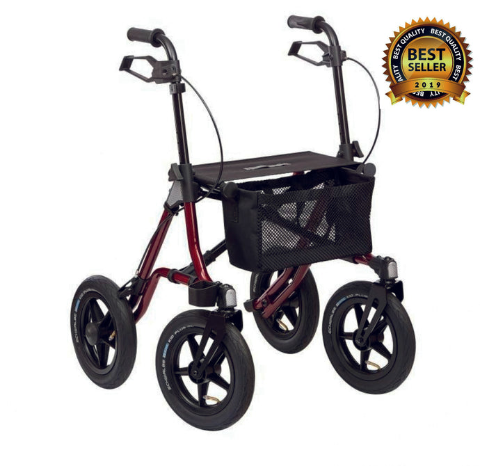 Mway All Terrain Wheeled Walker Rollator