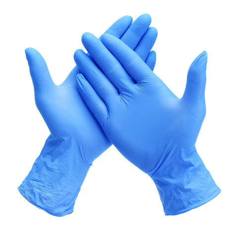 Nitrile Powder Free Examination Gloves Medical Grade - Pack of 100