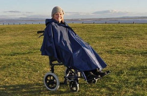Splash Deluxe Wheelchair Poncho (Lined)