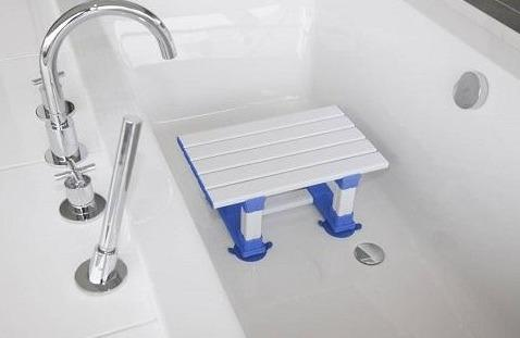 Atlantis Slatted Bath Seat