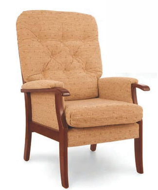 Bradley High Back Fire Side Chair