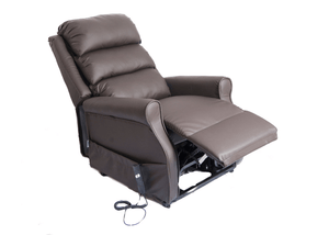 Kingsley Waterfall Back Dual Motor Riser Recliner