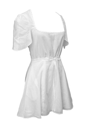 Thumbelina Dress White
