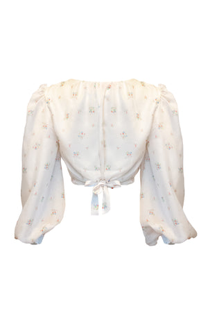 Phoebe Top White Floral