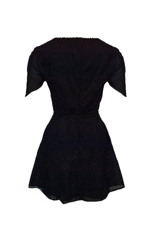 Thumbelina Dress Black