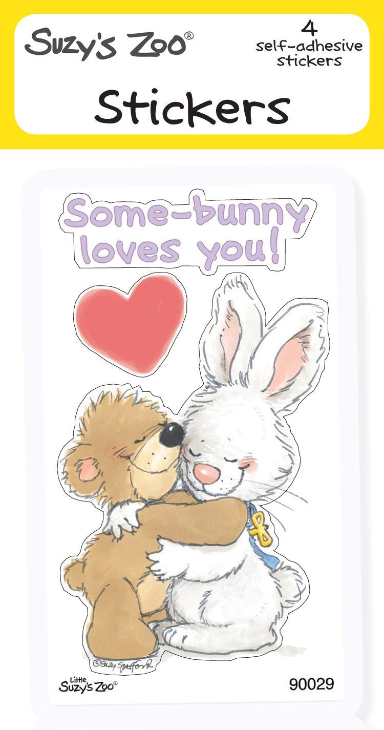 Some Bunny Loves You Stickers (4-pack)
