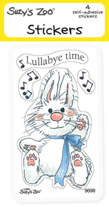 Lullaby Time Stickers (4-pack)