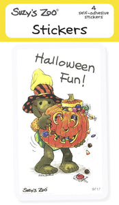 Halloween Fun! Stickers (4-pack)