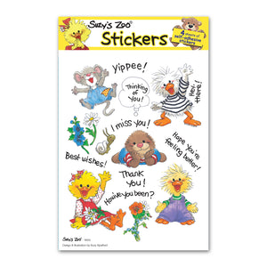 Hide & Seek! Multi Stickers (4-pack)