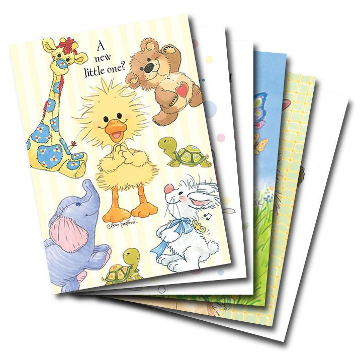Mixed Cards 6-pack: Assorted Occasions
