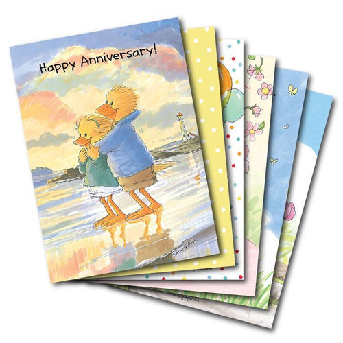 Mixed Cards 6-pack: Cheerful Occasions