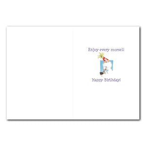 Inquisitive Cats Birthday Greeting Card