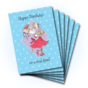 A Real Gem Birthday Greeting Card