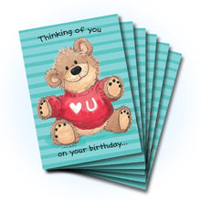 Lots of Love Birthday Greeting Card