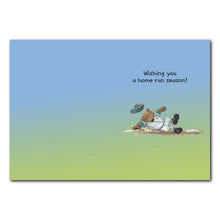 Home Run Slugger Birthday Greeting Card