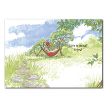 Life is Good Birthday Greeting Card