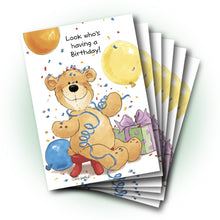 Billy Boy Birthday Greeting Card