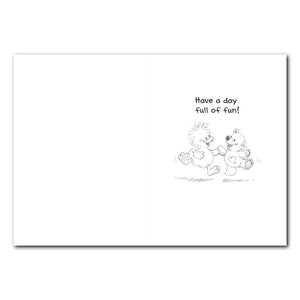 Witzy and Boof Birthday Greeting Card