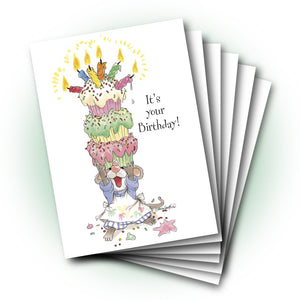 Herkimer's Cupcakes Birthday Greeting Card