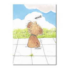 Baxter Woof Friendship Card