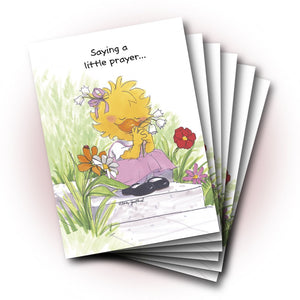 Suzy Ducken's Thoughts and Prayers Get Well Greeting Card