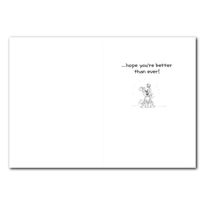 Get Well Quick! Get Well Greeting Card