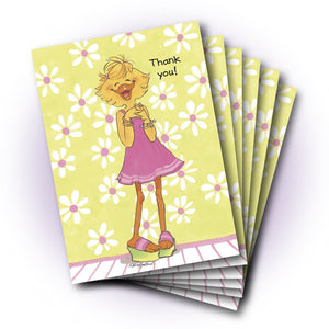 Sally Ducken's Talking Hands Thank You Greeting Card