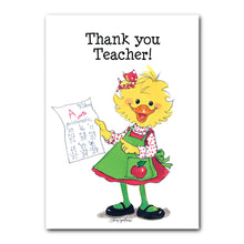 Teacher Thank You Greeting Card