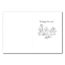 Witzy and Friends Baby Congrats Card