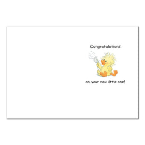 Sweet Witzy Baby Congrats Card