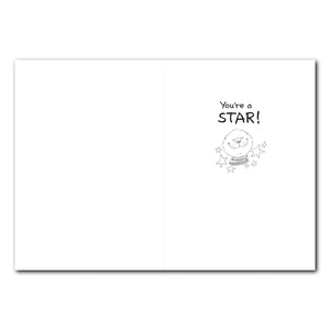 Ollie's Star Congratulations Greeting Card