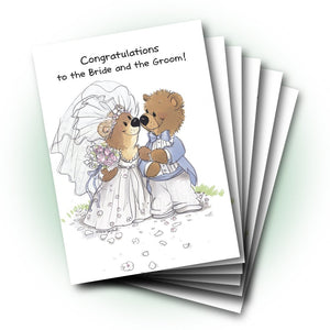 Rowf and Lovey Wedding Greeting Card