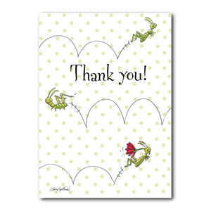 Zoom Zoom Thank You Greeting Card