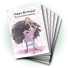 Cornelia O'Plume's Birthday Greeting Card