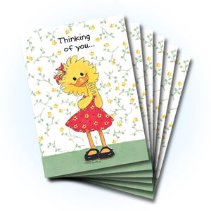"""Thinking of You"" Friendship Greeting Card"