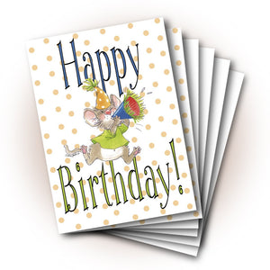 Herkimer's Horn Birthday Greeting Card