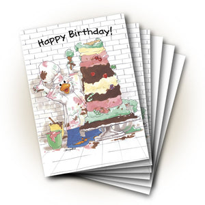 Jack's Layers of Cake Birthday Greeting Card