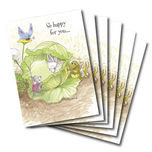 """So Happy For You"" Baby Congrats Greeting Card"
