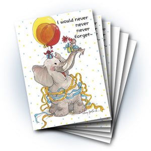 Livingston and Herkimer Birthday Greeting Card