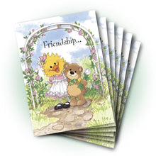 Suzy and Willie Bear Friendship Greeting Card