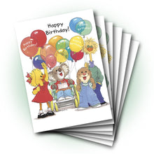 Kiley and Friends Birthday Greeting Card