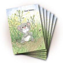 God Bless Mouse Friendship Greeting Card