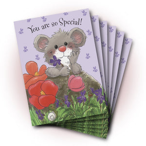 Herkimer Violets Birthday Greeting Card