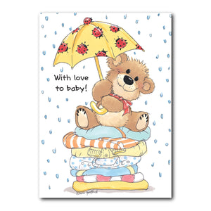 Little Bear Baby Congrats Card