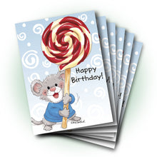 Herkimer Lollipop Birthday Greeting Card