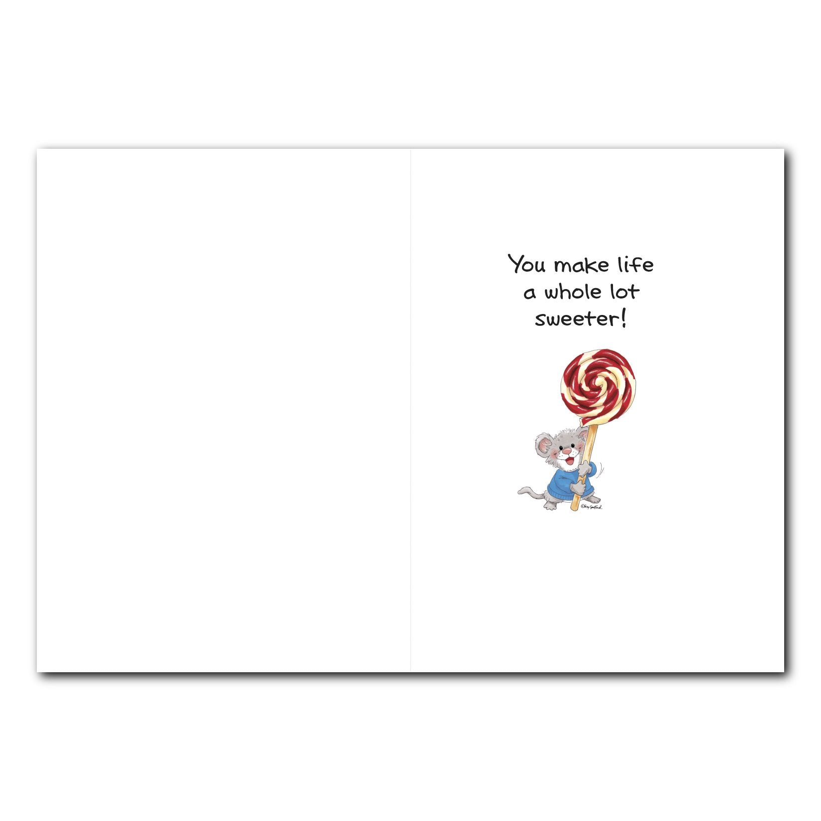 Herkimer Lollipop Birthday Greeting Card Suzys Zoo Store