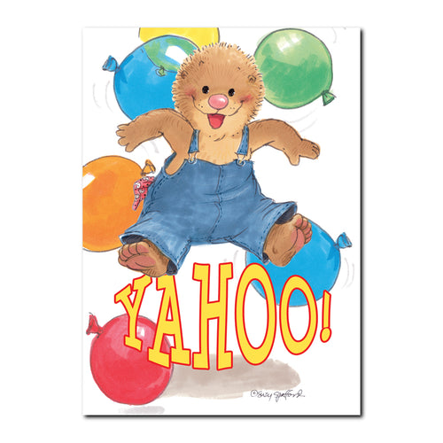 Ollie's Jump Congratulations Greeting Card