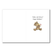 Bears Love Birthday Greeting Card