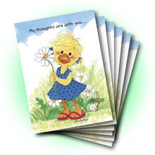 Polly Daisy Friendship Greeting Card